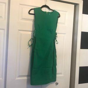 Calvin Klein Green Sheath Dress